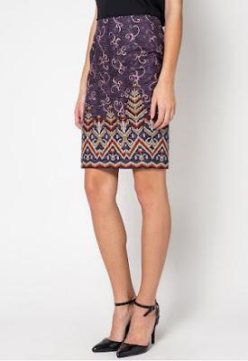 Model Rok Batik Solo Elegan