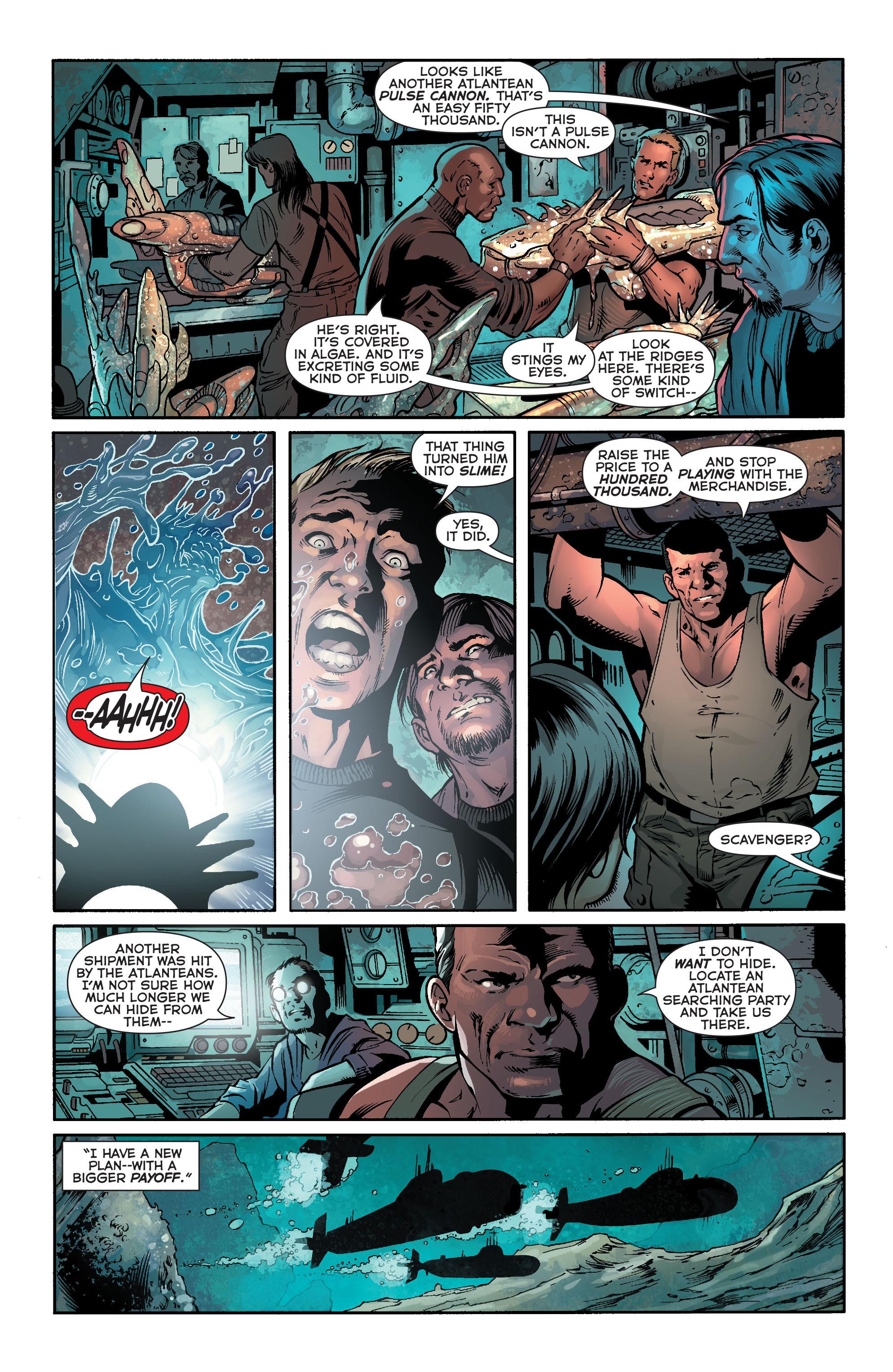 Read online Aquaman (2011) comic -  Issue #18 - 16