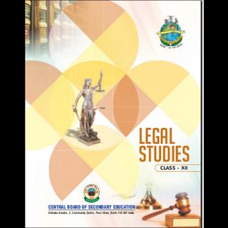 Legal Studies - CBSE Class 11th, 12th pdf free download