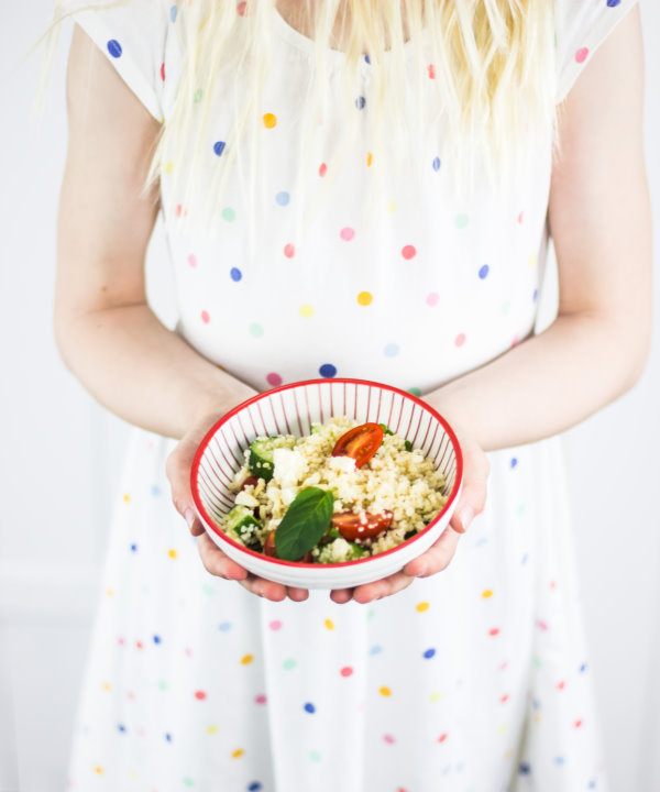 Rezept für Couscous-Salat. Perfekt zum Grillen!