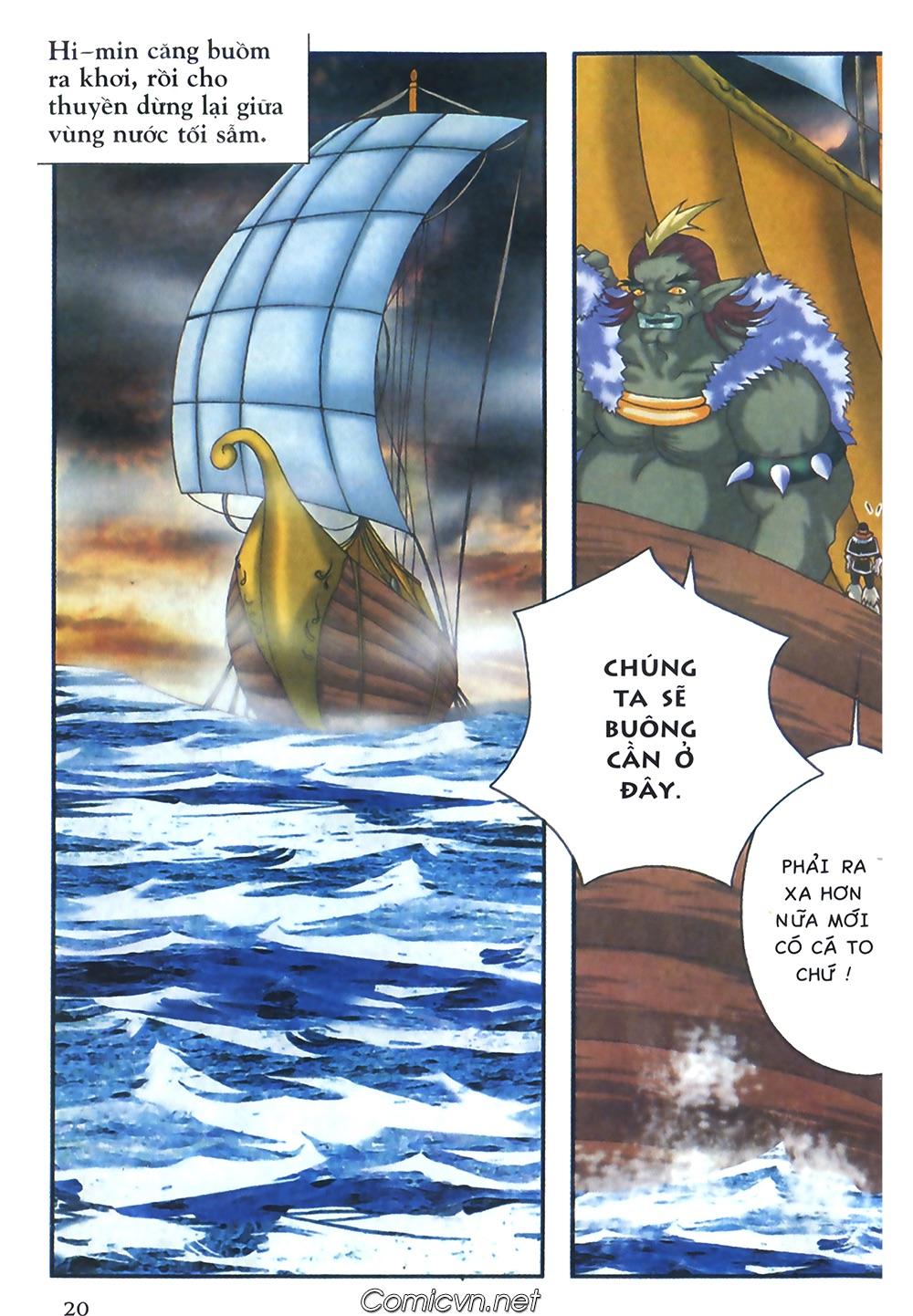 Thần thoại Bắc Âu - Chapter 36: Chuyến câu cá để đời - Pic 21