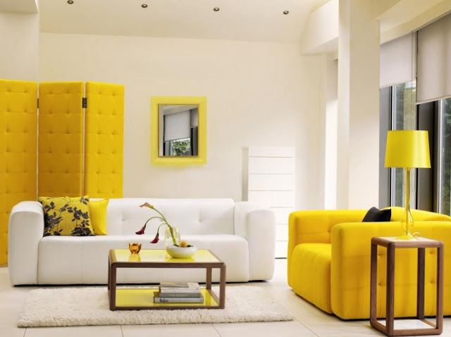 lovely yellow living room furniture