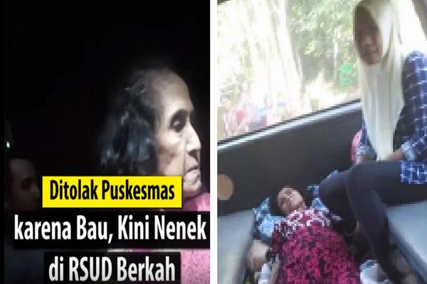 Ditolak Puskesmas karena Bau, Kini Nenek Rohmah Kondisinya Gawat di RSUD Berkah