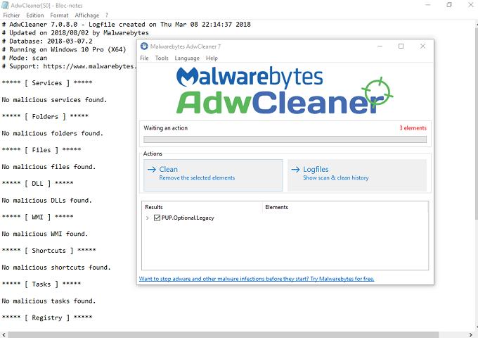 تحميل أفضل أداة AdwCleaner للتخلص من برامج الإعلانات والنوافد المنبثقة  وبرامج التجسس للويندوز