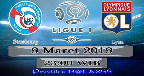 Prediksi Bola855 Strasbourg vs Lyon 9 Maret 2019
