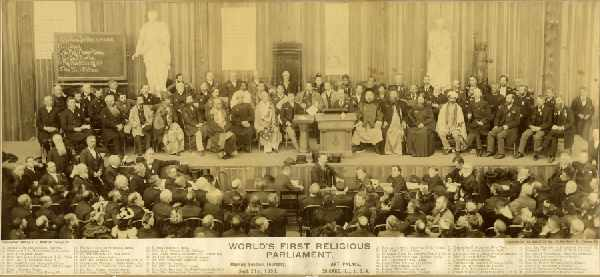 World Parliament of Religions, 1893, Chicago