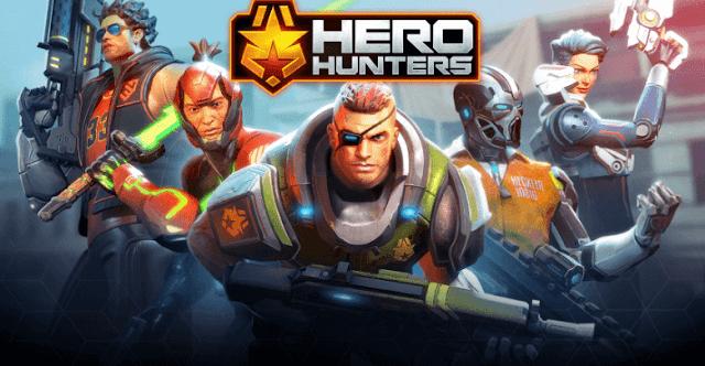 لعبة-Hero-Hunters للآيفون