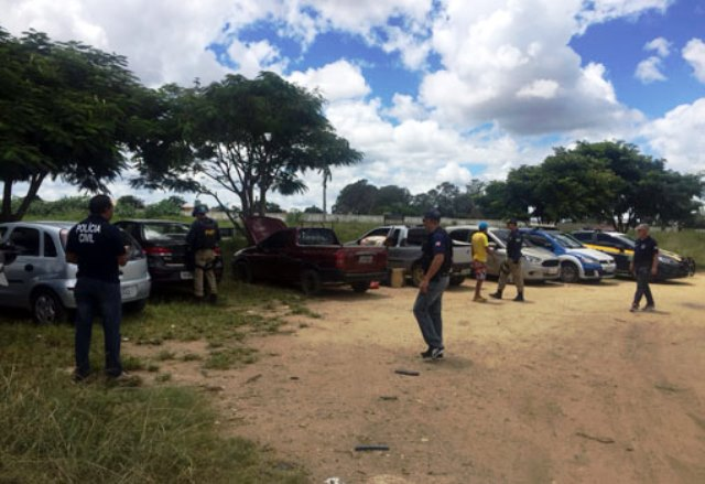 Sudoeste: Veículos com suspeita de adulteração foram apreendidos pela Polícia Civil e PRF