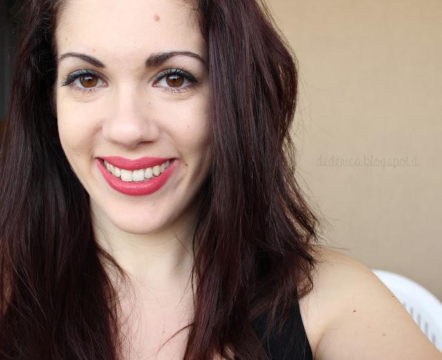 Nabla Diva Crime Lipstick - Panta Rei Swatches