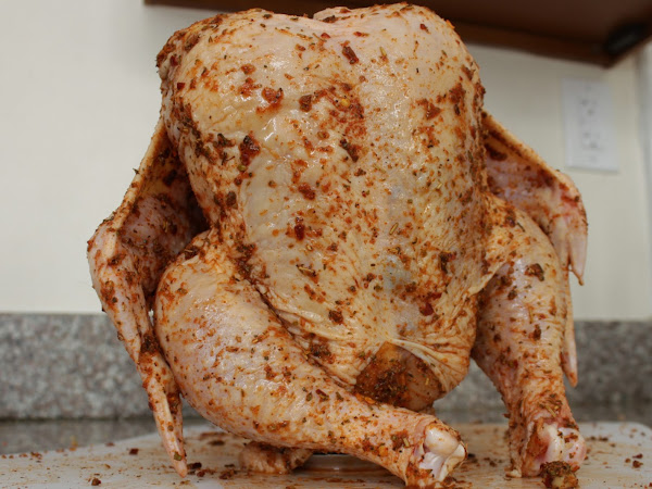 A sign you really haven't grilled enough this summer (Smoked Beer Can Chicken)