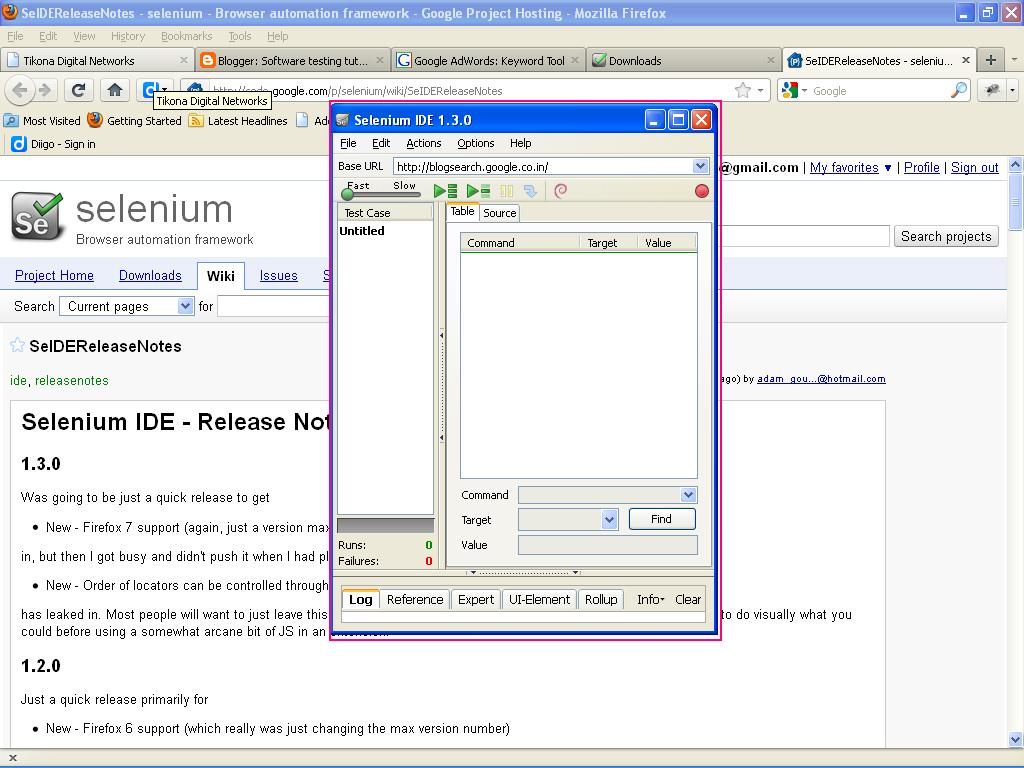 how to download and install selenium IDE step by step process