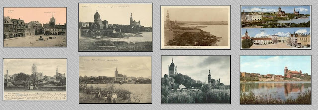 alte Postkarten mit Culmsee-Motiven