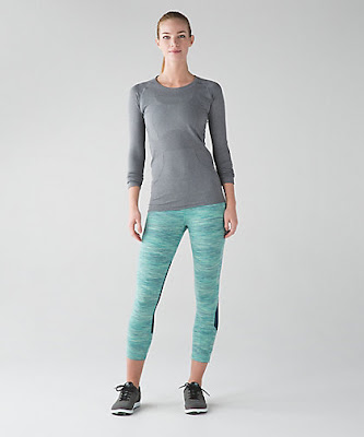 lululemon pace-rival-crop space-dye-camo-alberta-lake-fresh-teal
