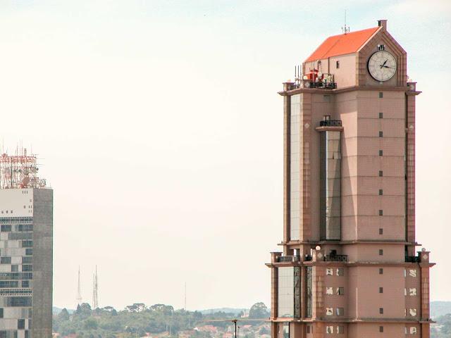 Mais um dos relógios da cidade, Curitiba
