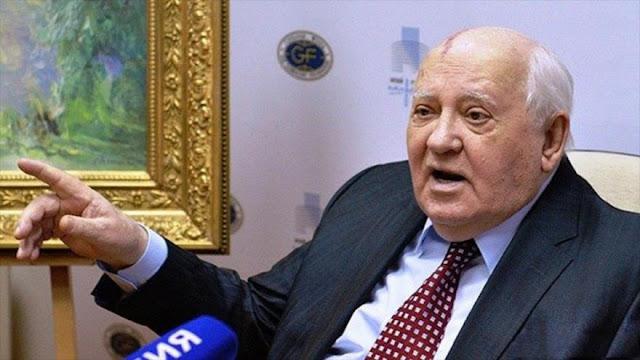 Gorbachov: Ataque de EEUU a Siria es preámbulo de uno más grande