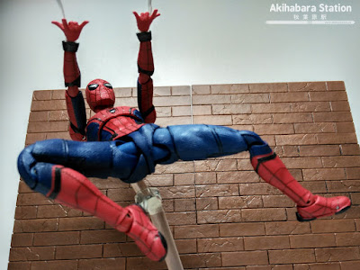 S.H.Figuarts Spider-man Homecoming + Wall - Tamashii Nations