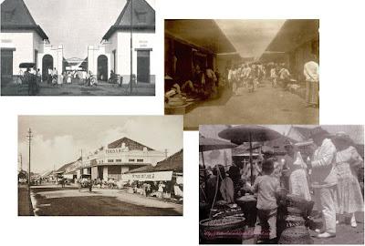 foto lama pasar baru bandung