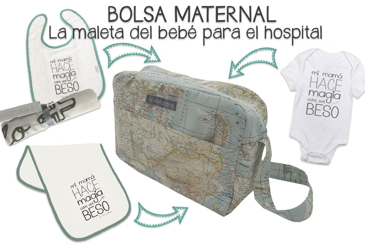 747860de2 BebeBlog by mimuselina  BOLSA MATERNAL  LA MALETA DEL BEBÉ PARA EL HOSPITAL