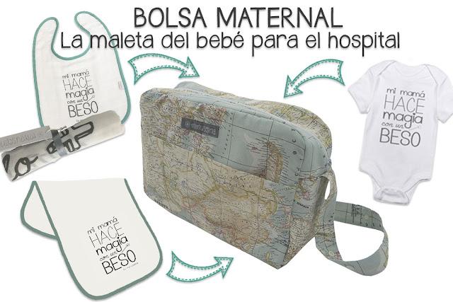 blog mimuselina bolsa maternal para el hospital y para el carrito bebé