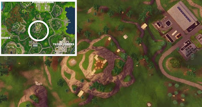 Snobby Pleasant, Tilted, Flaming Hoop Locations, Fortnite, Season 5, Week 4