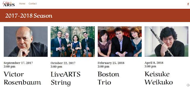 LiveARTS: 2017-2018 Concert Series