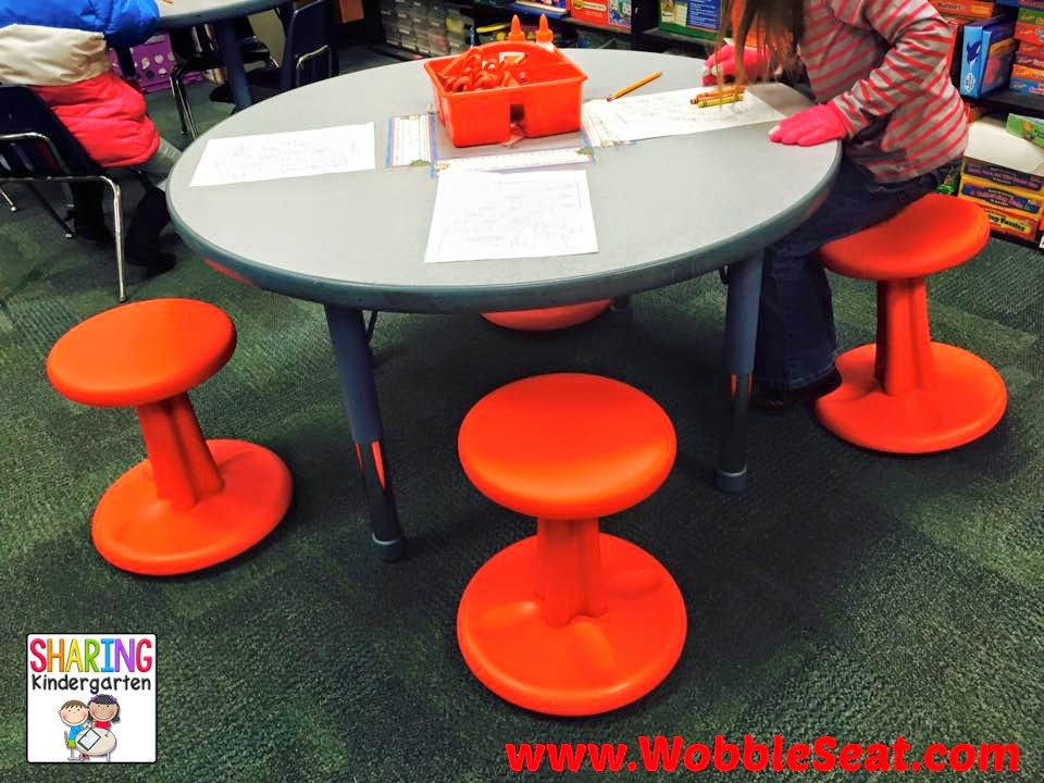 "Dynamic Seating Alternative! ""Wobble Seat"" the stool that rocks at WobbleSeat.com"