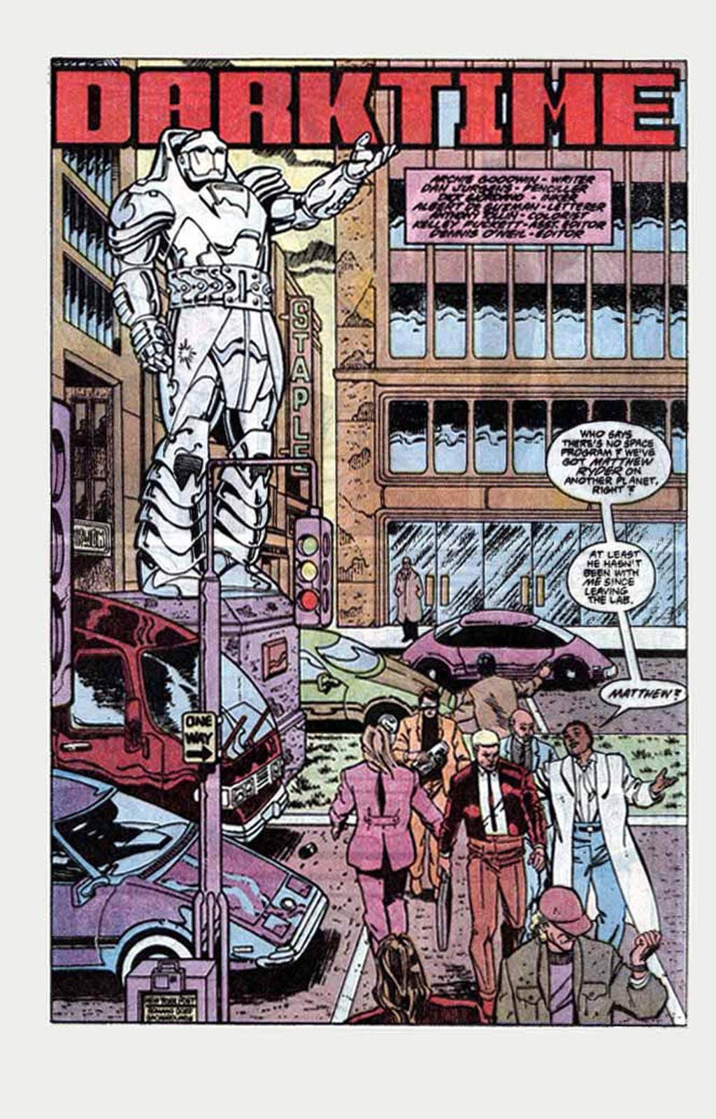 Read online Armageddon 2001 comic -  Issue #1 - 14