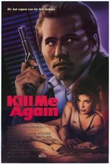 La muerte golpea dos veces (1989) Thriller con  Val Kilmer