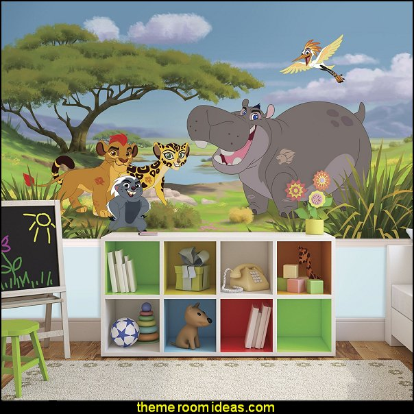 Lion Guard X-Large Chair Rail Prepasted Mural