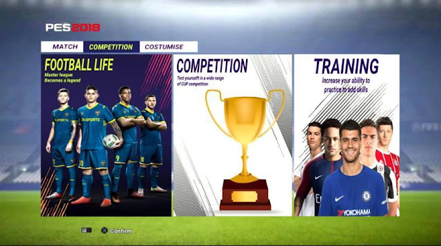 FIFA 18 Style For PES 2013