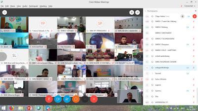 Guru-guru Indonesia yang menyertai perkongsian online