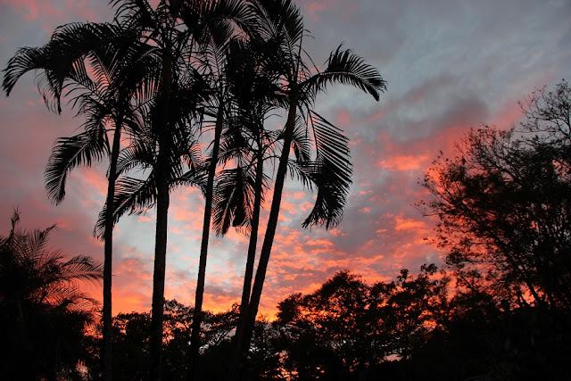 Sonnenuntergang Costa Rica, Samara