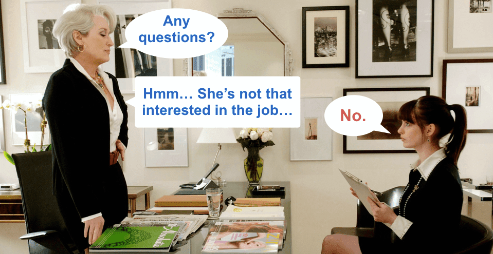 The Best Question To Ask In An Interview To Leave A