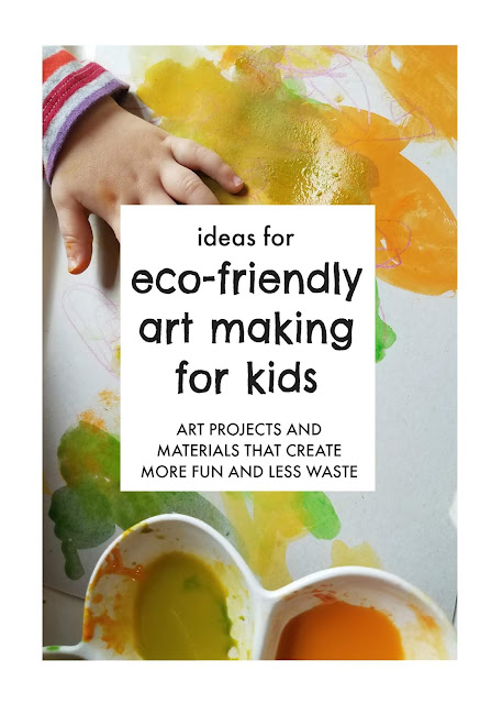 How to Let Your Kids  Be Creative (Without Creating Tons of Waste)