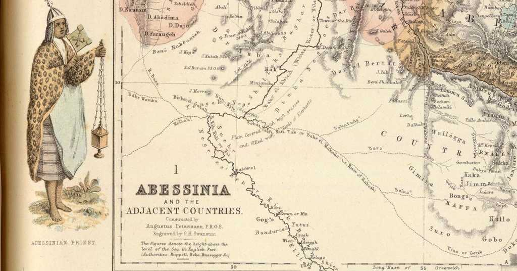 Abessinia, Negeri Terpilih