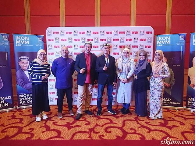 rakan blogger bersama ikon mvm 2019