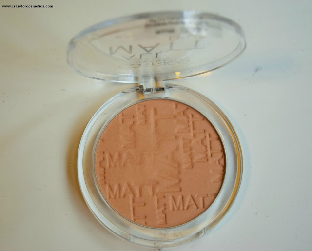 Catrice Cosmetics All Matte Plus Powder in 030 Warm Beige Singapore