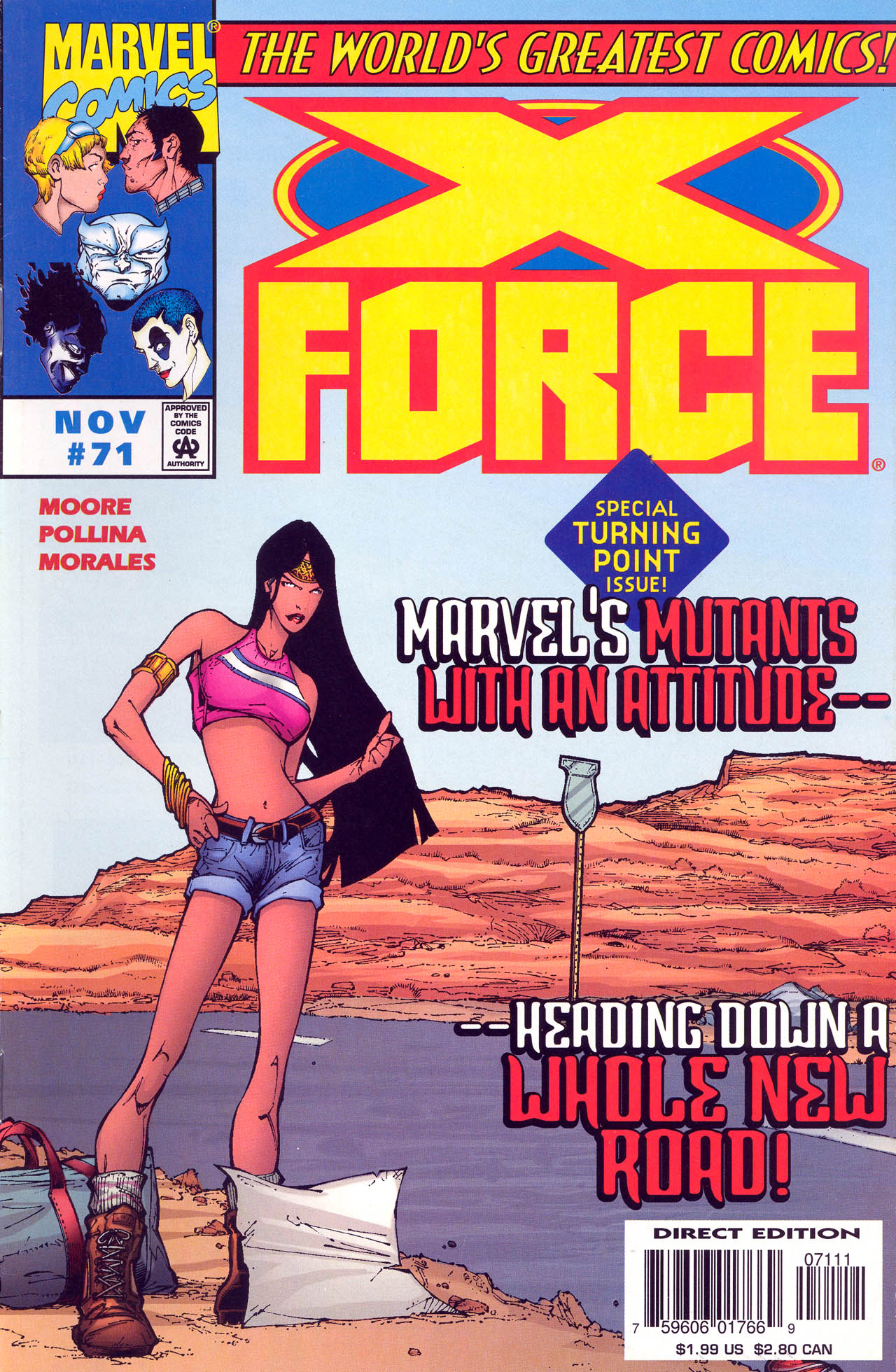 Read online X-Force (1991) comic -  Issue #71 - 2