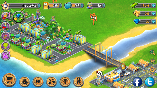 Free Direct Download Android Games: City Island Airport ...