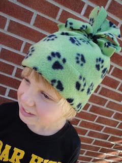 42389b5234d Modern Handmade Child  Create  Fa-la-la-la-la Fa-leece Hats for the ...