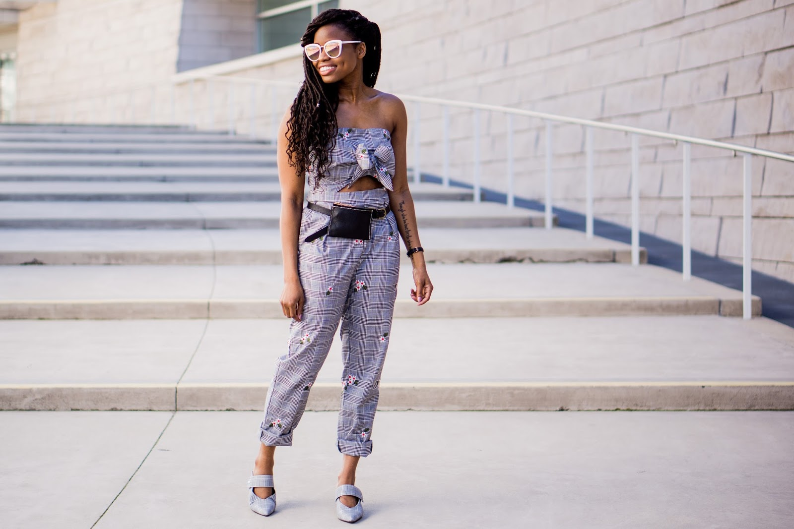 plaid_floral_jumpsuit