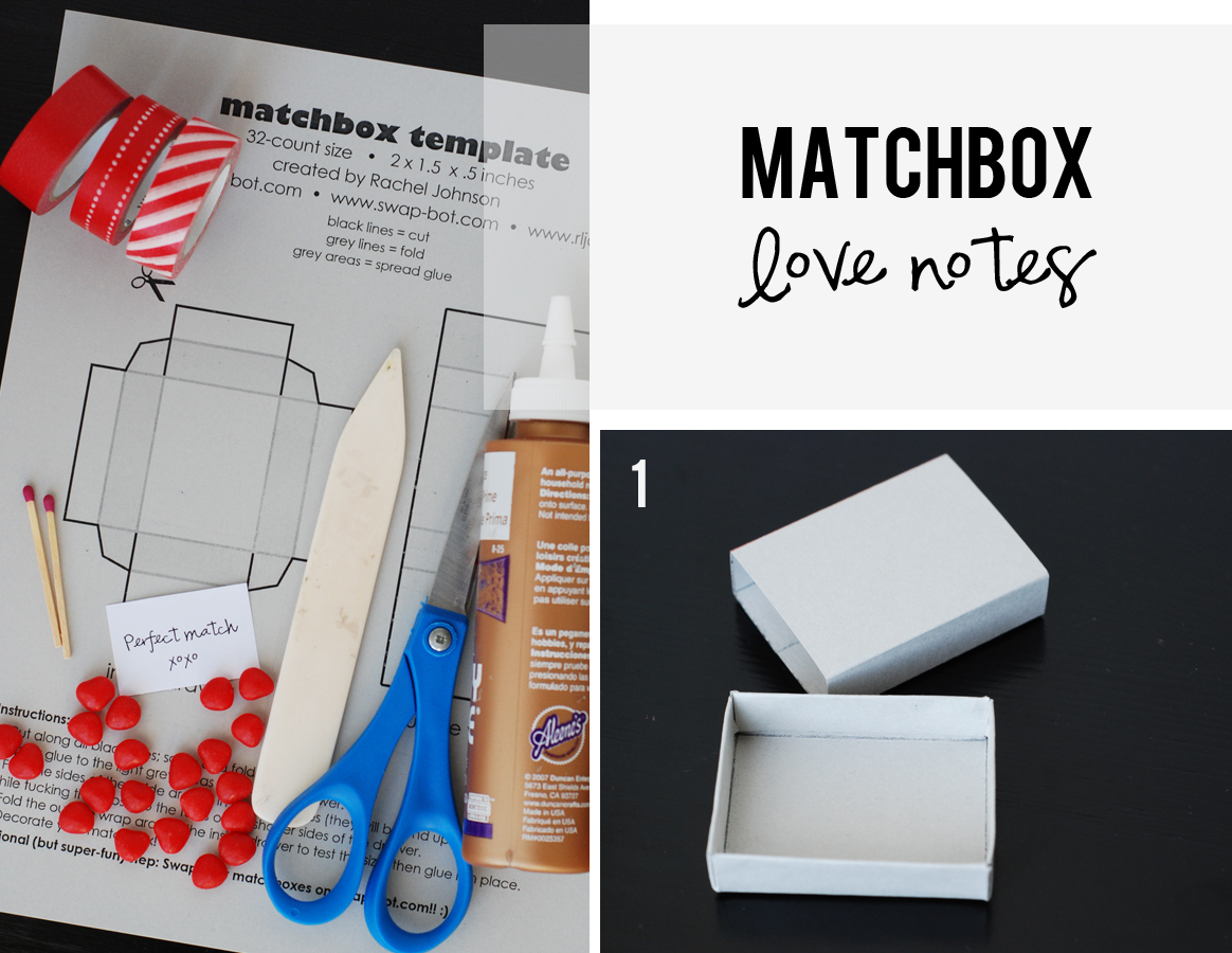 Diy Matchbox Love Notes For Valentine S Day