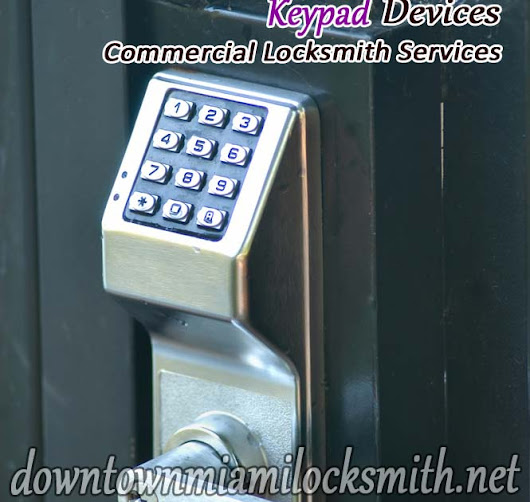 Reliable Locksmith & Safe: Commercial Keyless Locks