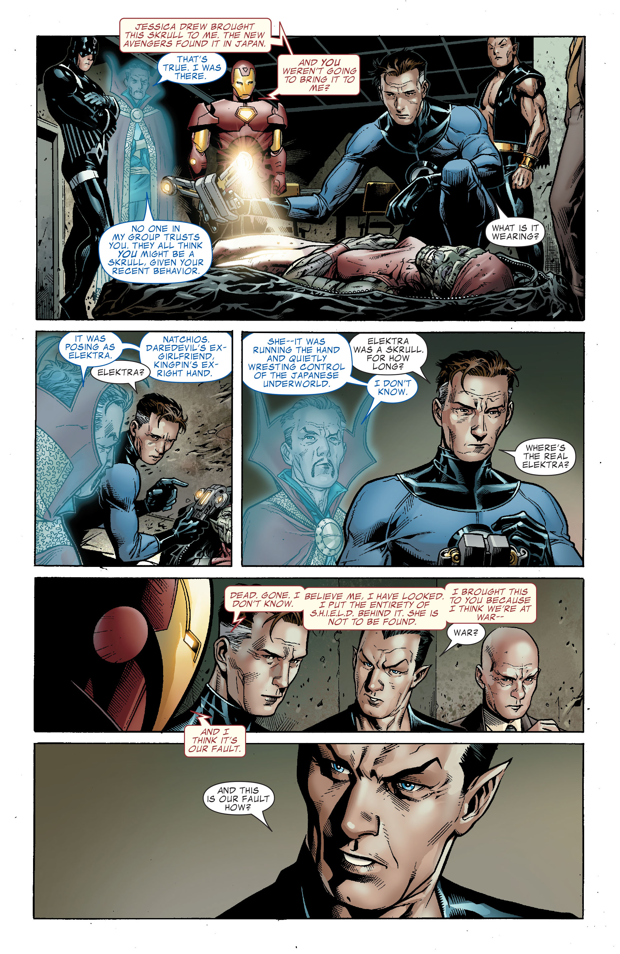 Read online Secret Invasion: The Infiltration comic -  Issue #2 - 7