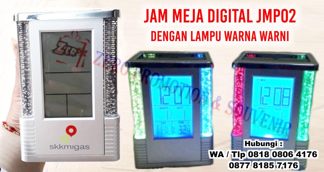 Jual Souvenir Jam Meja Digital JMP02 dengan lampu warna warni ... 3f1d5e9bf7