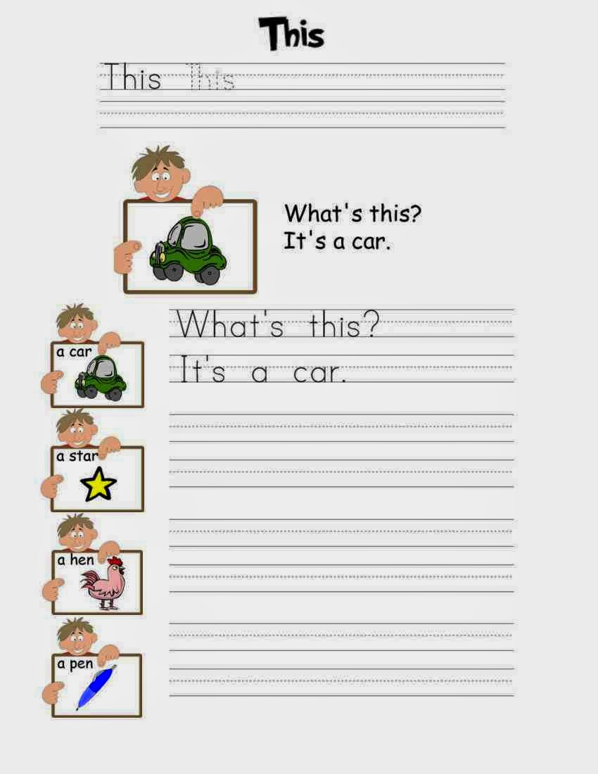 fun learn worksheets for kid