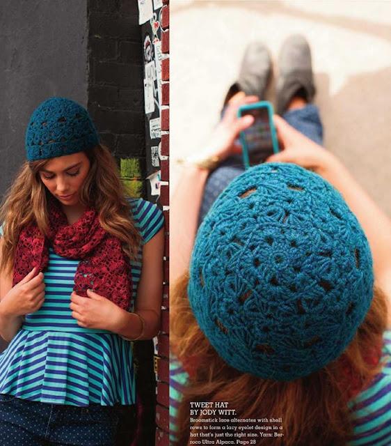 Patrón #1204: Sweet Hat a Cochet