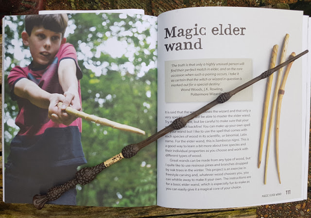 How to make your own Elder Wand with the Forest Craft book