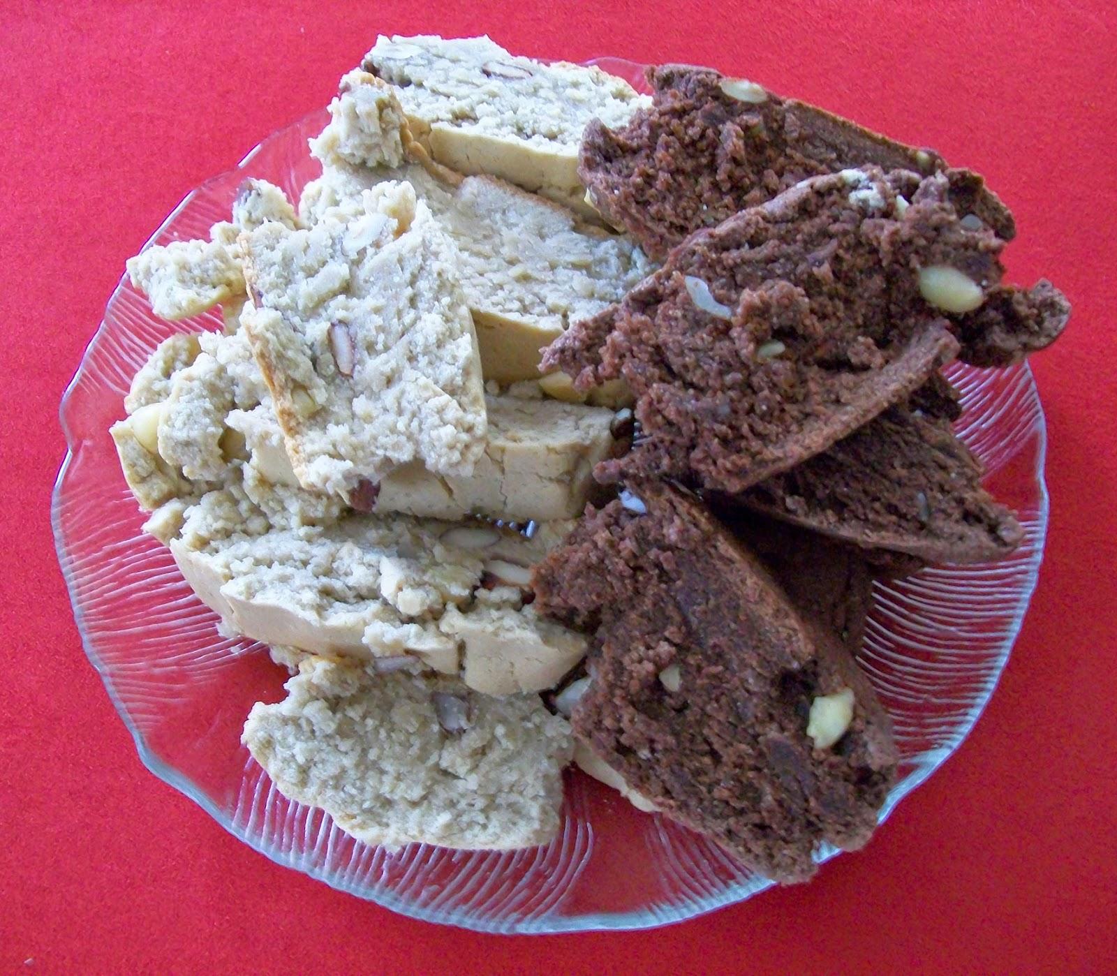vegan essen in wien - Vegane Biscotti - alt. mit Stevia - Italien - kekse