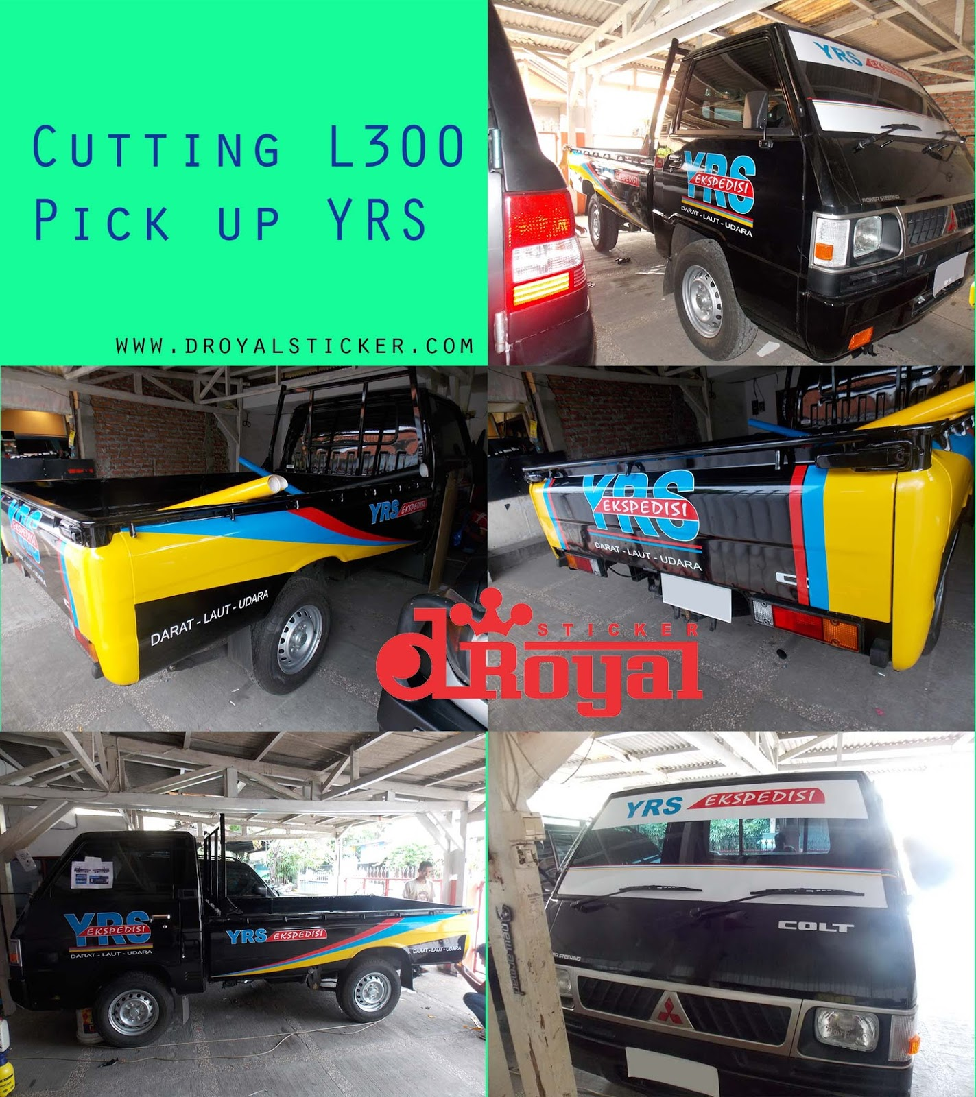 20 Best Mitsubishi Delica L300 Images On Pinterest: Top Cutting Sticker Mobil Pick Up L300 Terbaru